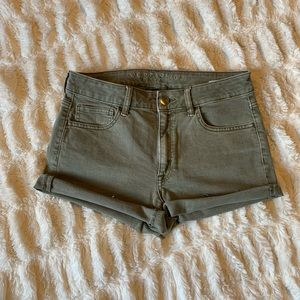 American Eagle high rise shorts